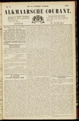 Alkmaarsche Courant 1884-01-20