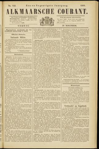 Alkmaarsche Courant 1889-11-29
