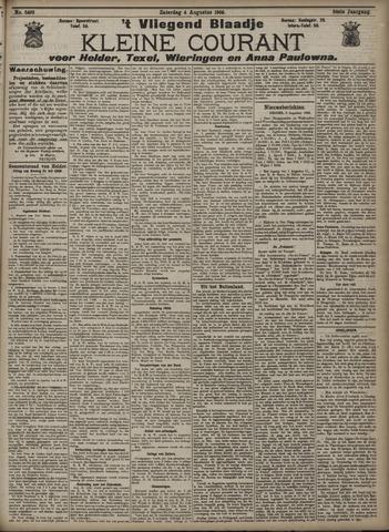 Vliegend blaadje : nieuws- en advertentiebode voor Den Helder 1906-08-04
