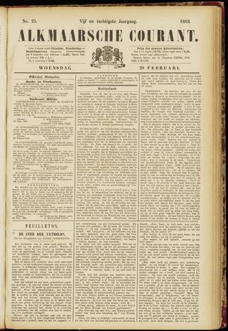 Alkmaarsche Courant 1883-02-28