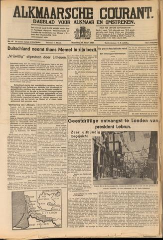 Alkmaarsche Courant 1939-03-22