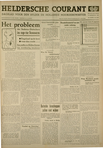 Heldersche Courant 1938-08-29
