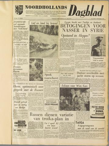 Noordhollands Dagblad : dagblad voor Alkmaar en omgeving 1961-10-02