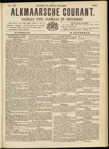 Alkmaarsche Courant 1906-11-17
