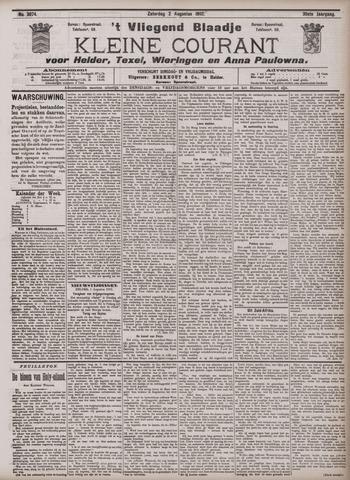 Vliegend blaadje : nieuws- en advertentiebode voor Den Helder 1902-08-02