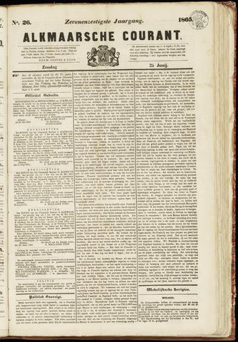 Alkmaarsche Courant 1865-06-25
