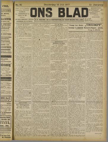 Ons Blad : katholiek nieuwsblad voor N-H 1917-07-12