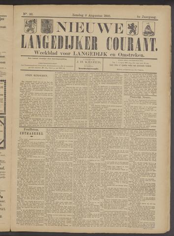 Nieuwe Langedijker Courant 1896-08-09