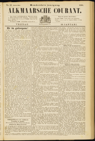 Alkmaarsche Courant 1898-01-28