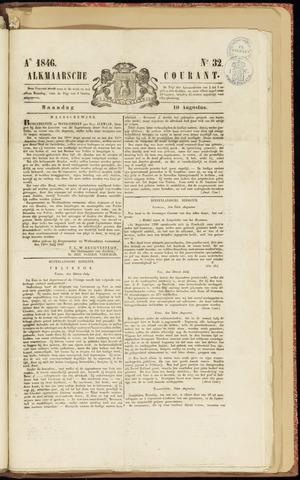 Alkmaarsche Courant 1846-08-10