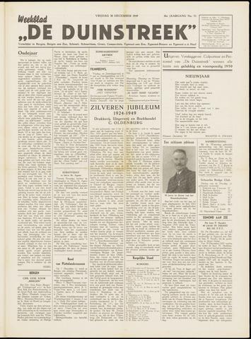 De Duinstreek 1949-12-30