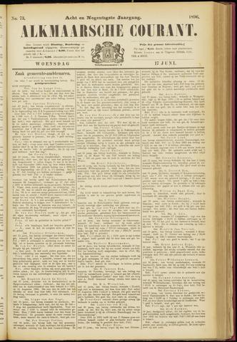 Alkmaarsche Courant 1896-06-17