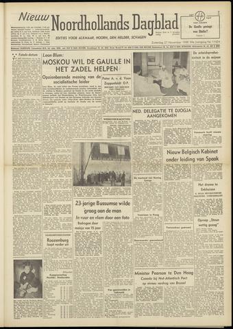 Nieuw Noordhollandsch Dagblad : voor Alkmaar en omgeving 1948-11-27