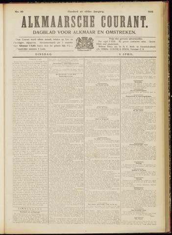 Alkmaarsche Courant 1909-04-06