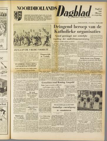 Noordhollands Dagblad : dagblad voor Alkmaar en omgeving 1954-04-09