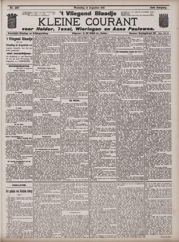 Vliegend blaadje : nieuws- en advertentiebode voor Den Helder 1913-08-13