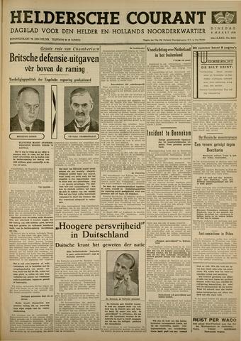 Heldersche Courant 1938-03-08