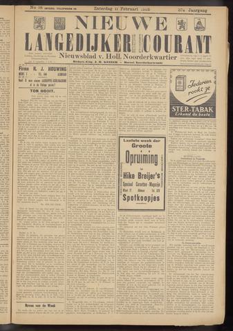 Nieuwe Langedijker Courant 1928-02-11