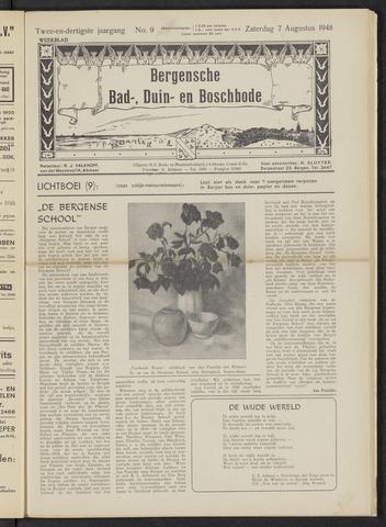 Bergensche bad-, duin- en boschbode 1948-08-07
