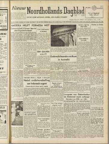Nieuw Noordhollandsch Dagblad : voor Alkmaar en omgeving 1950-01-06