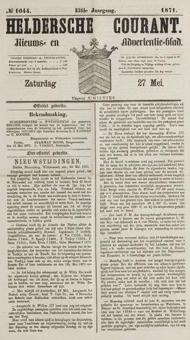 Heldersche Courant 1871-05-27