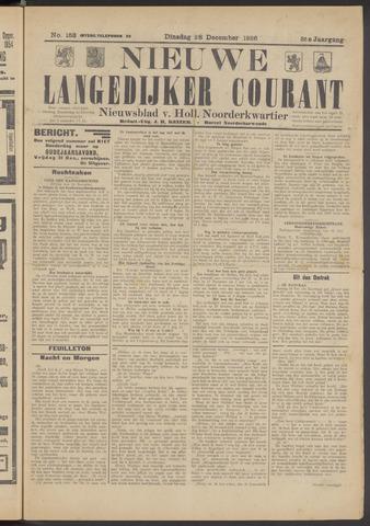 Nieuwe Langedijker Courant 1926-12-28