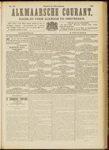 Alkmaarsche Courant 1909-09-16