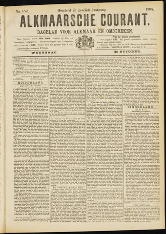 Alkmaarsche Courant 1905-10-25