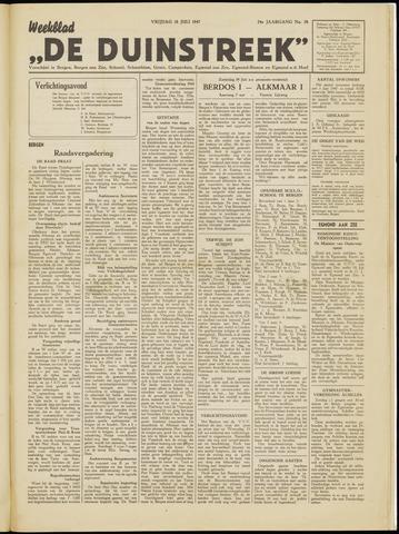 De Duinstreek 1947-07-18