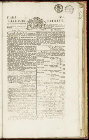 Alkmaarsche Courant 1844-02-26