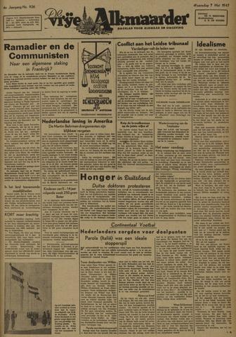 De Vrije Alkmaarder 1947-05-07