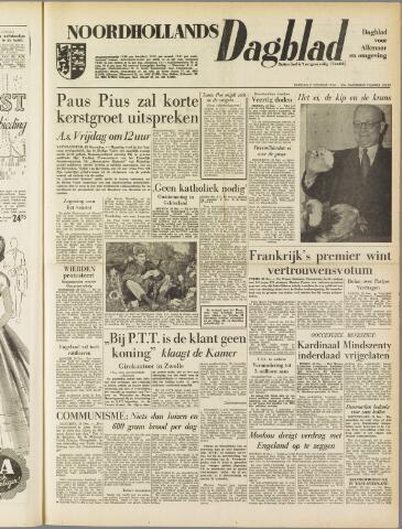 Noordhollands Dagblad : dagblad voor Alkmaar en omgeving 1954-12-21