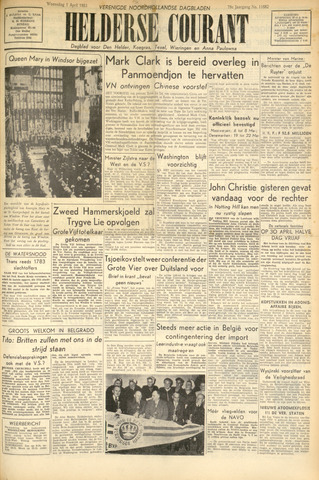 Heldersche Courant 1953-04-01