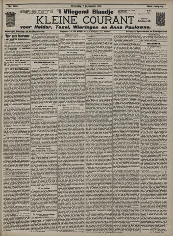 Vliegend blaadje : nieuws- en advertentiebode voor Den Helder 1910-09-07