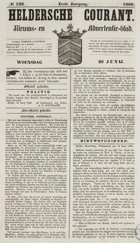 Heldersche Courant 1866-06-20