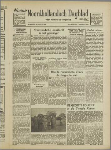 Nieuw Noordhollandsch Dagblad : voor Alkmaar en omgeving 1946-01-09