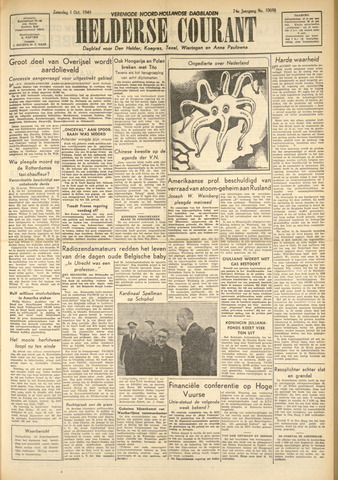 Heldersche Courant 1949-10-01