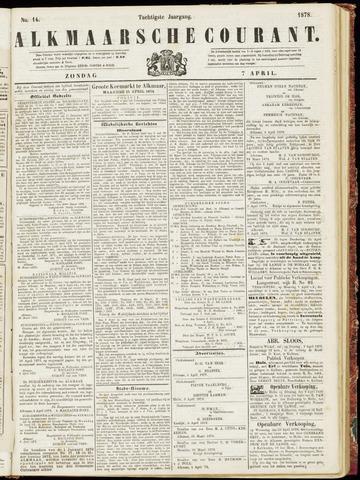 Alkmaarsche Courant 1878-04-07
