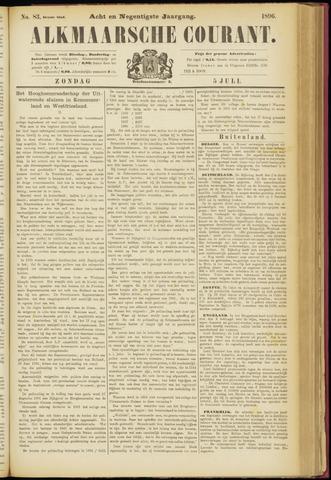 Alkmaarsche Courant 1896-07-05