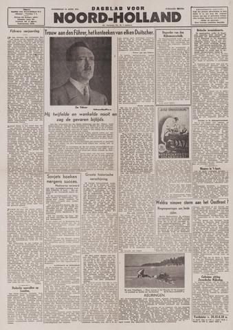 Dagblad Noord-Holland, Schager editie 1944-04-20