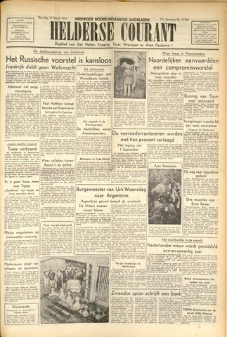 Heldersche Courant 1952-03-17