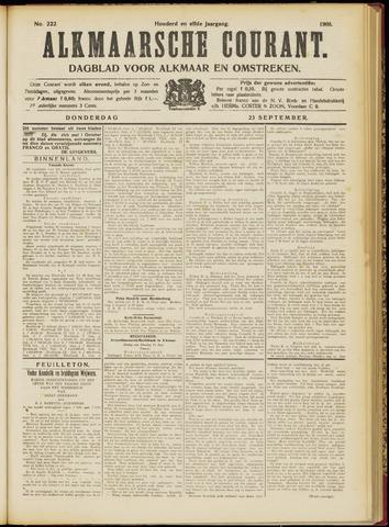 Alkmaarsche Courant 1909-09-23