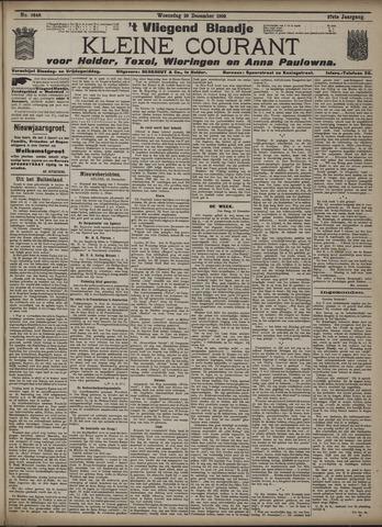 Vliegend blaadje : nieuws- en advertentiebode voor Den Helder 1909-12-29