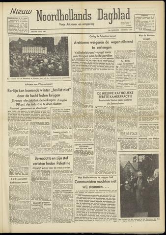 Nieuw Noordhollandsch Dagblad : voor Alkmaar en omgeving 1948-07-09