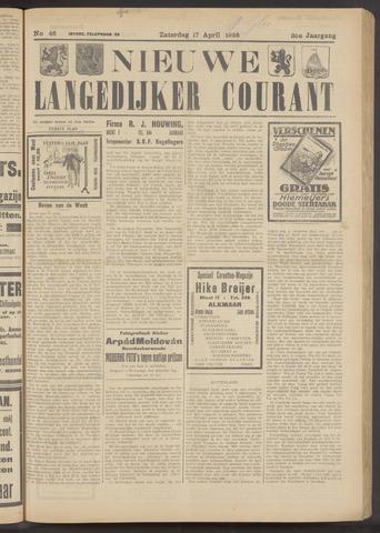 Nieuwe Langedijker Courant 1926-04-17