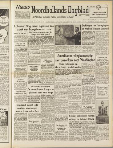 Nieuw Noordhollandsch Dagblad : voor Alkmaar en omgeving 1950-07-13
