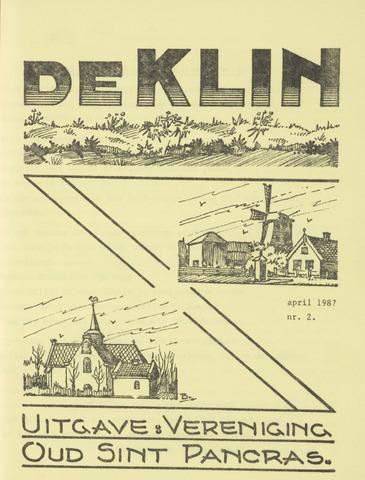 De Klin 1987-04-01