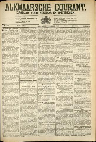 Alkmaarsche Courant 1930-11-21