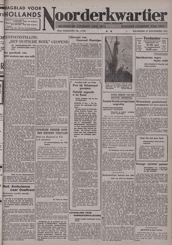 Dagblad voor Hollands Noorderkwartier 1941-11-17