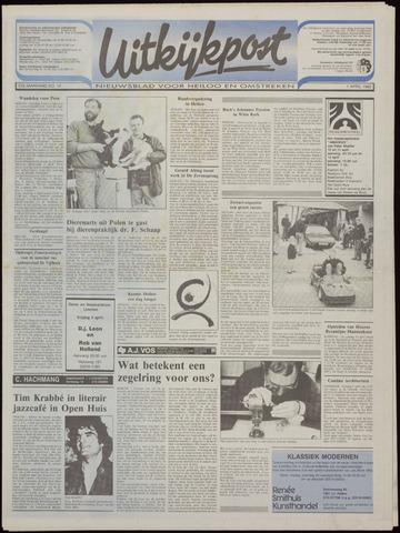 Uitkijkpost : nieuwsblad voor Heiloo e.o. 1992-04-01